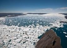 La fonte des glaces polaires liée à la montée des océans