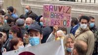 Manifestation à Marseille contre les mesures sanitaires
