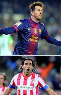 Quand le Barça et l'Atletico s'affrontent : Messi et Falcao se défient