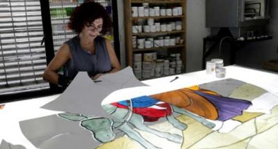 Restauration des toiles et vitraux au Liban L'autre défi post-explosion