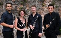 Le Quatuor de clarinettes à l'Institut français : Anches Hantées en concert à Agadir