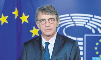 Le président du Parlement européen salue les initiatives du Maroc pour résoudre la crise libyenne