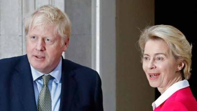 Londres et Bruxelles veulent accélérer les négociations post-Brexit