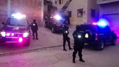 """Démantèlement d' une cellule terroriste affiliée à """"Daech"""" active à Tanger"""