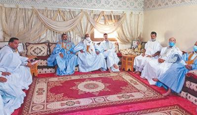 Chioukhs des tribus sahraouies et ONG de Dakhla-Oued Eddahab dénoncent les provocations des ennemis de notre intégrité territoriale