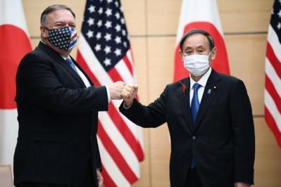 En visite à Tokyo, Mike Pompeo s'en prend violemment à la Chine