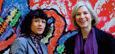 Le Nobel de chimie à la Française Emmanuelle Charpentier et l'Américaine Jennifer Doudna