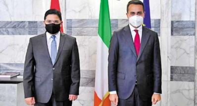 Entretiens maroco-italiens à Rome