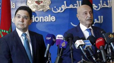 La médiation marocaine dans le conflit inter-libyen.