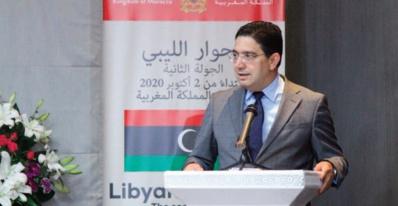 Nasser Bourita : S.M le Roi veille à soutenir le dialogue inter-libyen sans imposer de solutions