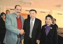 Driss Lachgar reçoit un responsable du parti communiste chinois