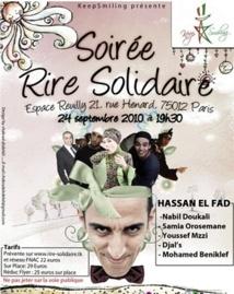 """Pour la première fois au Maroc : La soirée du """"Rire solidaire"""" de KeepSmiling"""