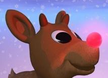 Pourquoi le renne du  Père Noël a le nez rouge