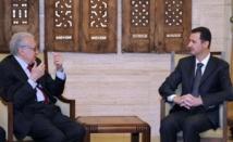 Après avoir rencontré Al-Assad : L'émissaire Brahimi doit rencontrer l'opposition intérieure