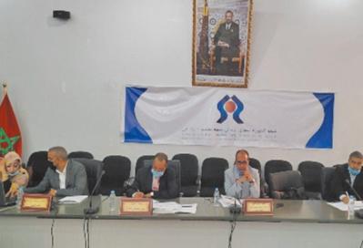 La CRDH de Guelmim-Oued Noun tient sa première réunion ordinaire