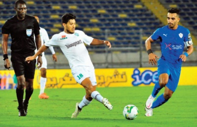 Un Raja à bout de souffle surpris par le Zamalek