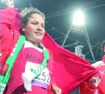 """Najat El Garaâ : """"Etre désignée meilleure sportive de l'année, un honneur pour ma carrière"""""""