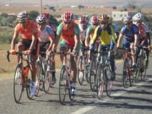 Quatre cyclistes de l'équipe nationale en préparation à Agadir
