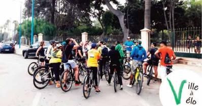 A Casablanca, le vélo a le vent en poupe