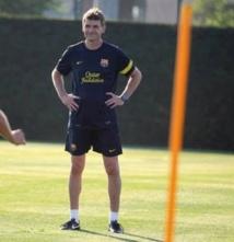 Vilanova retrouve le chemin des entraînements