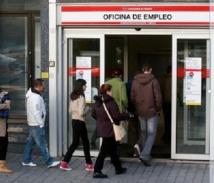 Près de 4,85 millions de chômeurs en Espagne