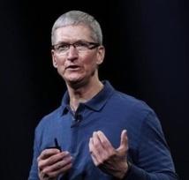 Insolite : Chute du salaire du directeur exécutif d'Apple