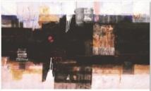 Vernissage de Mohamed  Khassif à la Mine d'art