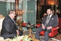 S.M le Roi reçoit le Premier secrétaire de l'USFP