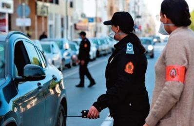 Arrestation de plus de 624.543 contrevenants à l'obligation du port du masque