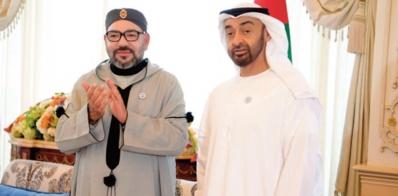 Entretien téléphonique entre S.M le Roi et Cheikh Mohammed Bin Zayed Al-Nahyane