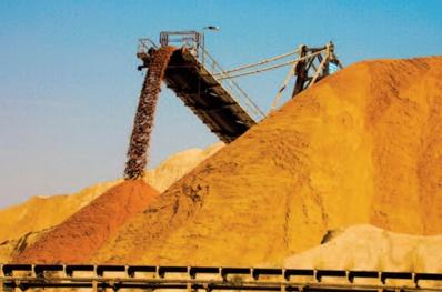 L'activité du secteur extractif maintient son dynamisme