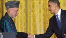 Karzaï en visite aux Etats-Unis