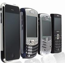 Les smartphones de moins en mois utilisés pour téléphoner