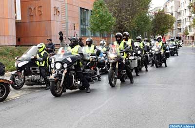 Huitième édition du Tour international des motos de la Marche Verte