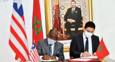 Le Maroc et le Liberia signent trois accords de coopération