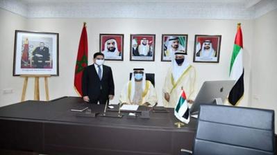 Volonté du Maroc et des Emirats Arabes Unis de renforcer leurs relations