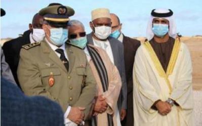 Les consuls généraux accrédités à Laâyoune assistent à l'inauguration de projets de développement