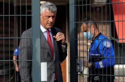 Inculpé pour crimes de guerre, l'ex-président kosovar devant la justice