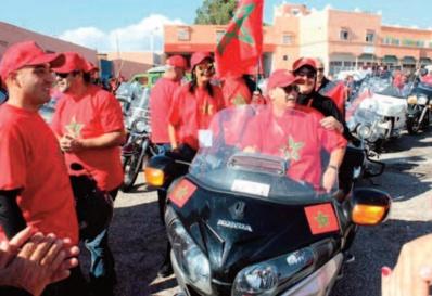 La 8ème édition du Tour international des motos de la Marche Verte s'achève à Marrakech