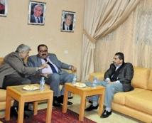 Driss Lachgar reçoit une délégation palestinienne