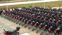 Remise à la DGSN de 120 motos d'intervention rapide