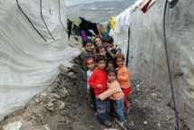 La moitié des réfugiés syriens sont des enfants