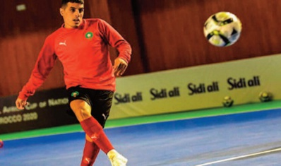 Hamza Maimon, l'international marocain qui fait le bonheur de Palma Futsal