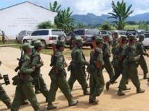 Les rebelles accusent l'armée  birmane d'ignorer le cessez-le-feu
