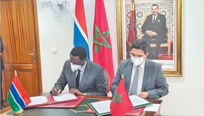 La Gambie réitère sa position en faveur de la marocanité du Sahara