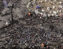 Célébration du deuxième anniversaire du Printemps égyptien