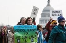 Manifestations à Washington pour une législation sur les armes
