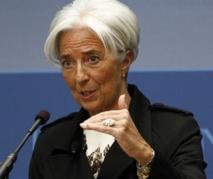Lagarde optimiste pour l'exercice en cours