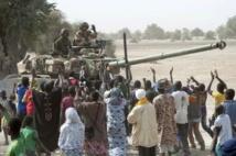 Tombouctou aux mains des soldats français et maliens