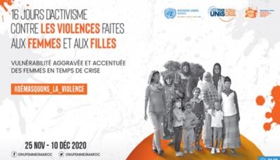16 jours d' activisme contre la violence basée sur le genre